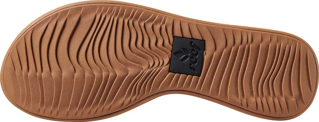 Women's Reef Rover Catch Thong Sandal, Black/Tan Synthetic, large, image 4