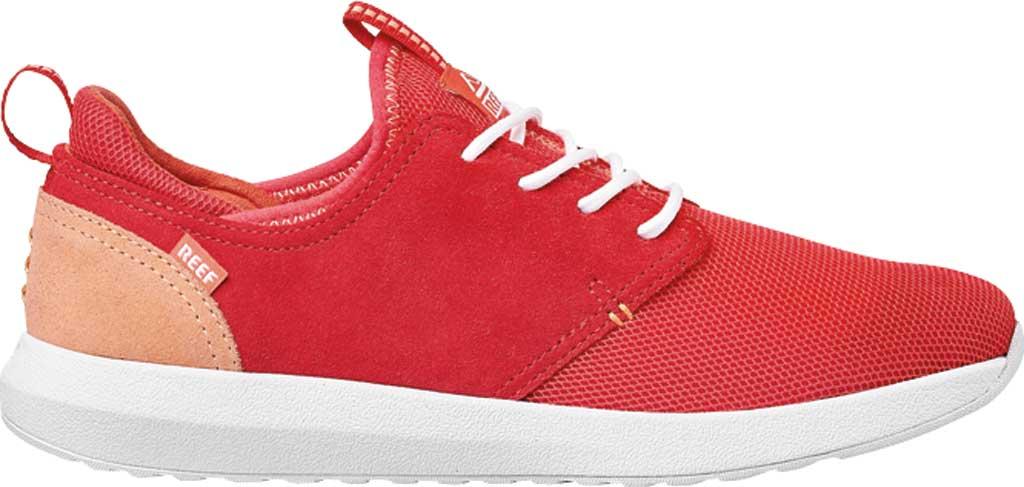 Women's Reef Cruiser Sneaker, Raspberry Mesh, large, image 2