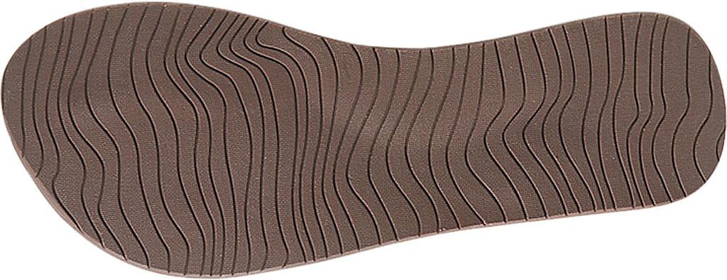 Women's Reef Cushion Celine Vegan Flip Flop, Rust Vegan Leather, large, image 3
