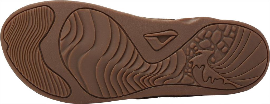 Men's Reef J-Bay Perf Waterproof Flip Flop, Java/Caramel Full Grain Leather, large, image 6