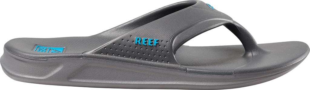 Men's Reef One Waterproof Flip Flop, Grey/Blue EVA, large, image 2