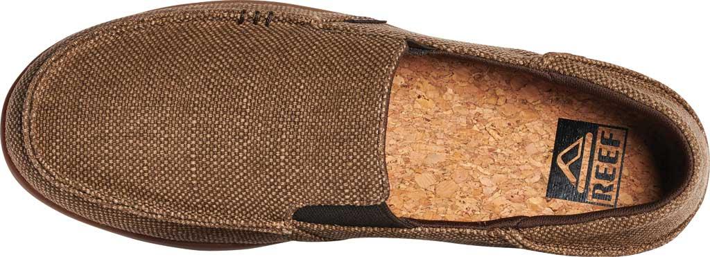 Men's Reef Cushion Matey Slip-On, Brown/Gum Hemp, large, image 3