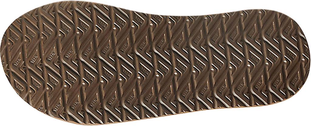 Men's Reef Cushion Phantom LE Flip Flop, Black/Brown Full Grain Leather, large, image 3