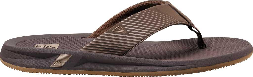 Men's Reef Phantom II Flip Flop, Brown Synthetic, large, image 2