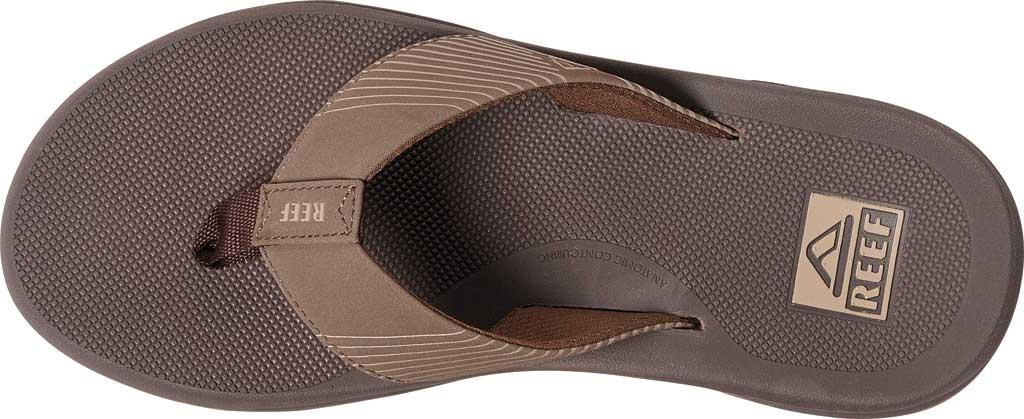 Men's Reef Phantom II Flip Flop, Brown Synthetic, large, image 3