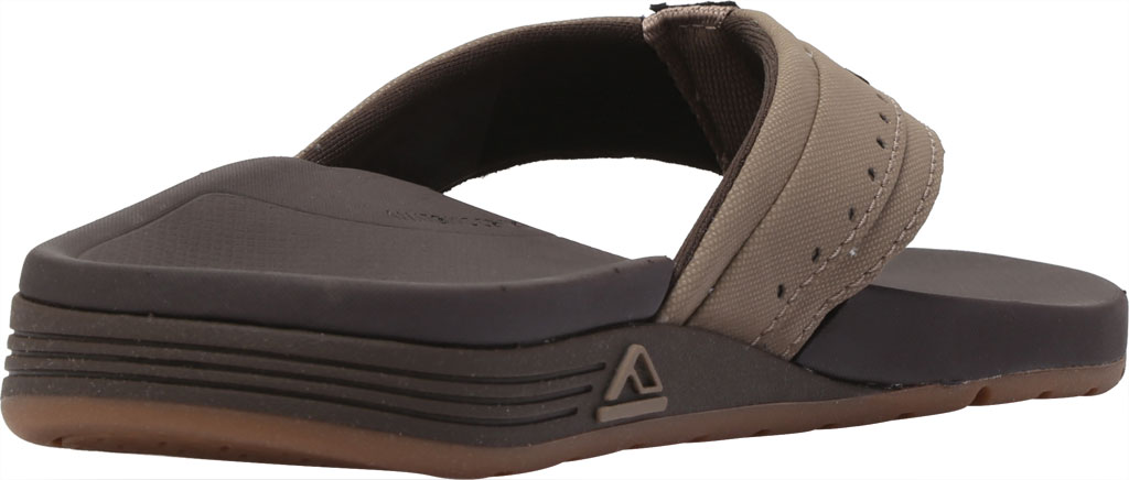 Men's Reef Ortho-Spring Mini Perf Flip Flop, Brown Recycled PET/Vegan Leather, large, image 4
