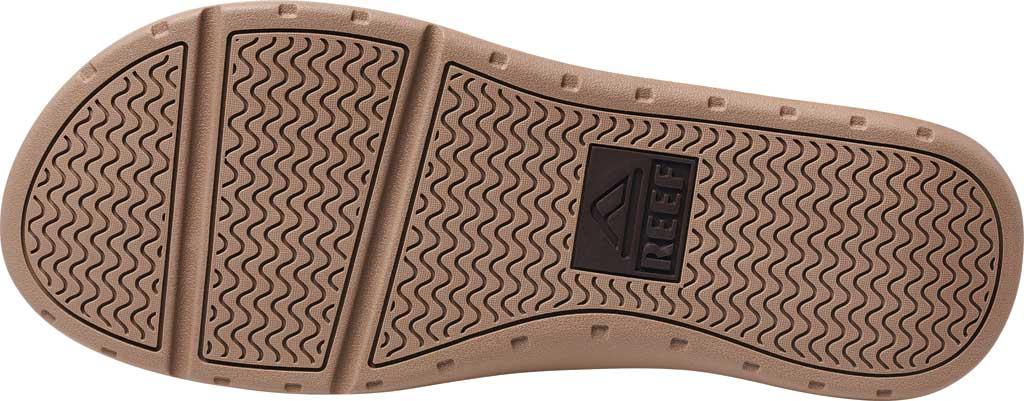 Men's Reef Ortho-Spring TX Flip Flop, Brown Recycled PET/Vegan Leather, large, image 4
