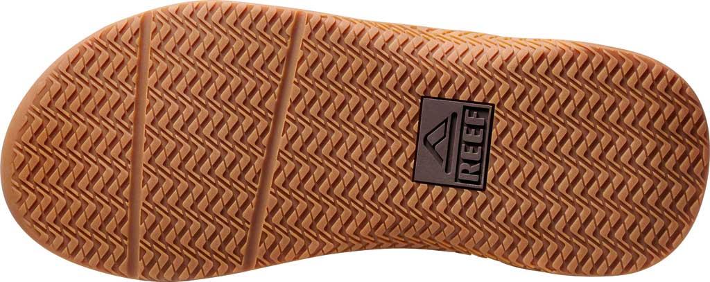Men's Reef Anchor LE Flip Flop, Brown Vegan Leather, large, image 4