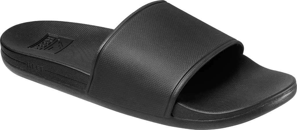 Men's Reef Cushion Scout Slide, Black EVA, large, image 1