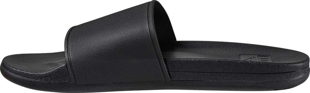 Men's Reef Cushion Scout Slide, Black EVA, large, image 3