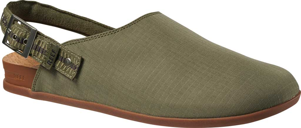 Men's Reef Cushion Sage RS Clog, Faded Olive Stretch Ripstop, large, image 1