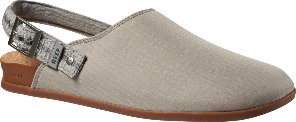 Men's Reef Cushion Sage RS Clog, Grey/White Stretch Ripstop, large, image 1