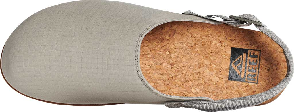 Men's Reef Cushion Sage RS Clog, Grey/White Stretch Ripstop, large, image 3