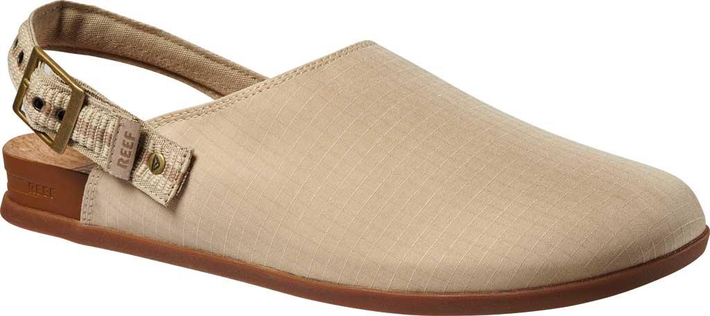 Men's Reef Cushion Sage RS Clog, Khaki/Gum Stretch Ripstop, large, image 1
