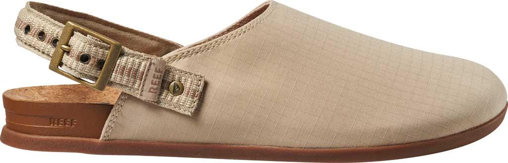 Men's Reef Cushion Sage RS Clog, Khaki/Gum Stretch Ripstop, large, image 2