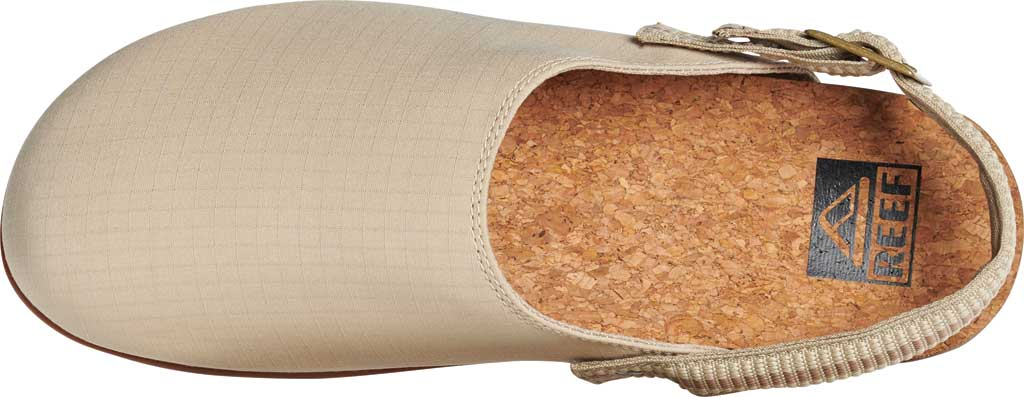 Men's Reef Cushion Sage RS Clog, Khaki/Gum Stretch Ripstop, large, image 3