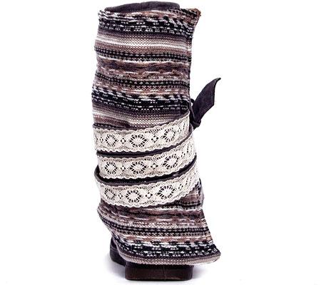 Women's MUK LUKS Nikki Belt Wrapped Boot, Grey, large, image 4