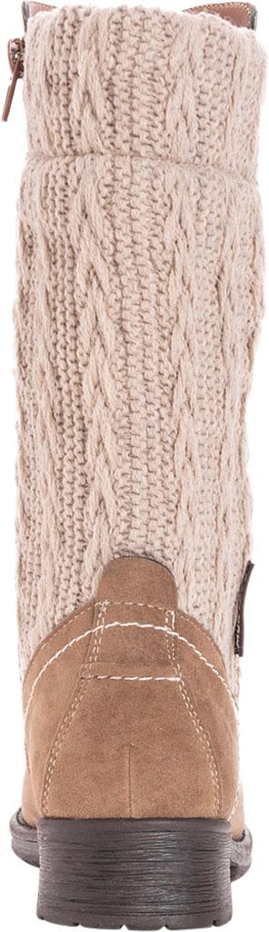 Women's MUK LUKS Casey Mid Calf Boot, Grey Polyester, large, image 3