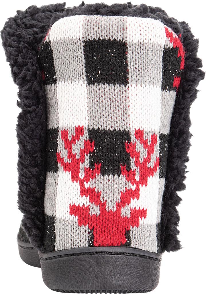 Women's MUK LUKS Cheyenne Bootie Slipper, Midnight Acrylic, large, image 3