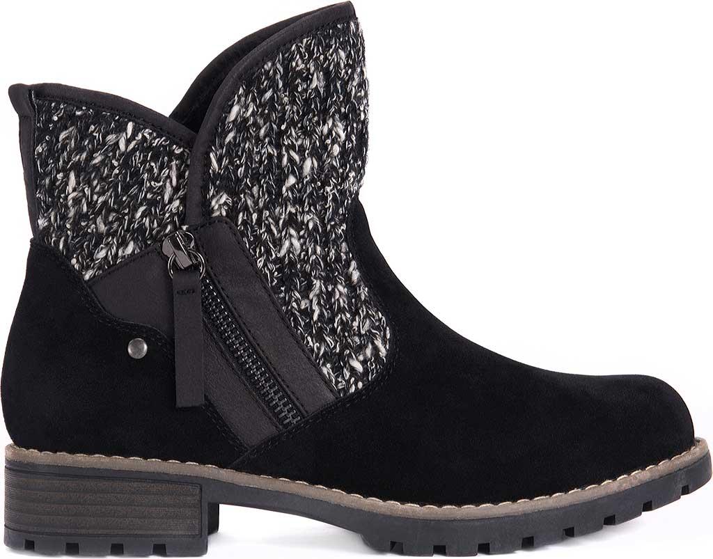 Women's MUK LUKS Gerri Ankle Boot, Black, large, image 2