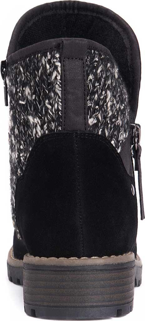 Women's MUK LUKS Gerri Ankle Boot, Black, large, image 3
