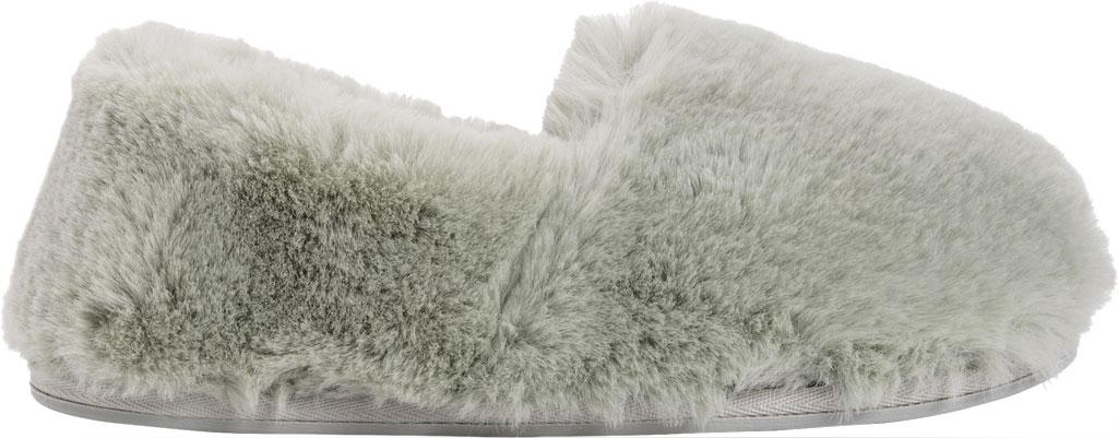 Women's MUK LUKS Ayla Slipper, Green Polyester/Faux Fur, large, image 2