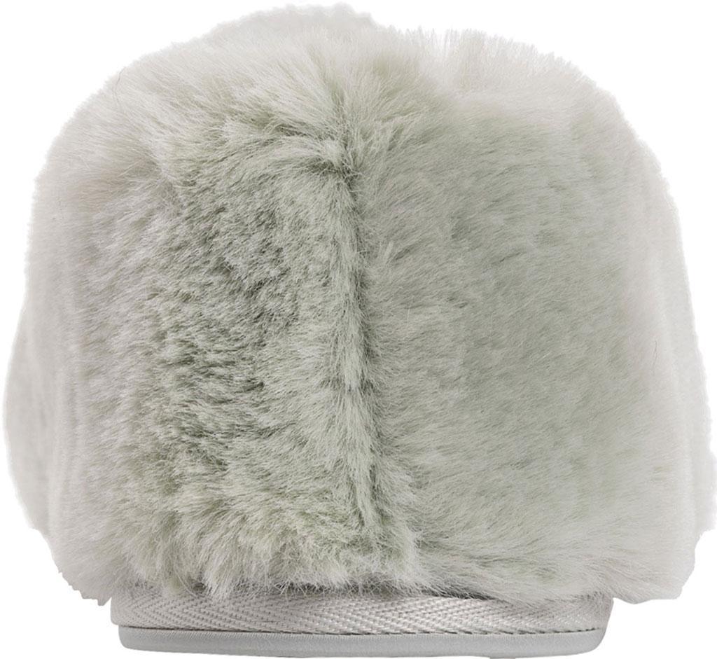 Women's MUK LUKS Ayla Slipper, Green Polyester/Faux Fur, large, image 3