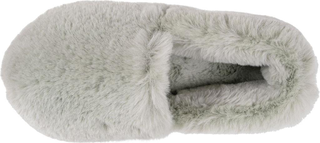 Women's MUK LUKS Ayla Slipper, Green Polyester/Faux Fur, large, image 4