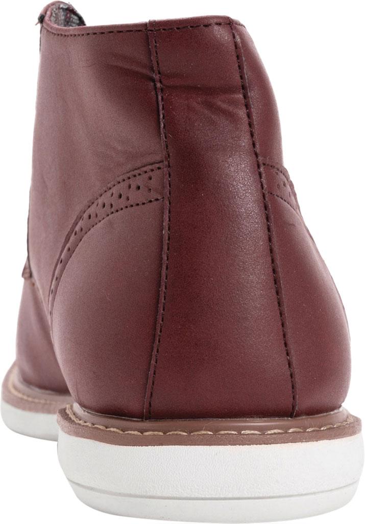 Men's MUK LUKS Watson Chukka Boot, Burgundy Polyurethane, large, image 3