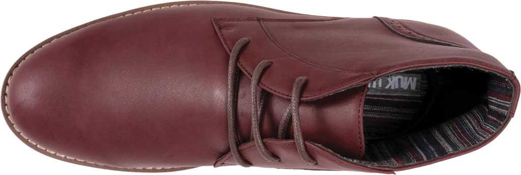 Men's MUK LUKS Watson Chukka Boot, Burgundy Polyurethane, large, image 4