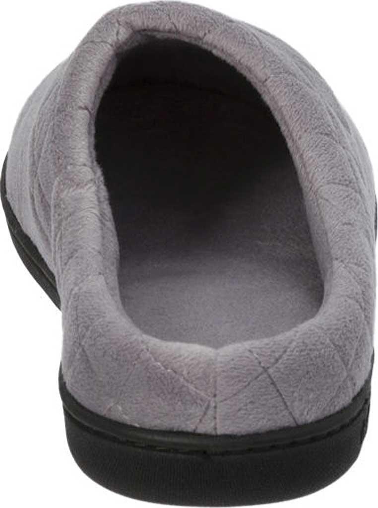 Women's Dearfoams Darcy Microfiber Velour Clog Slipper, Medium Grey, large, image 5
