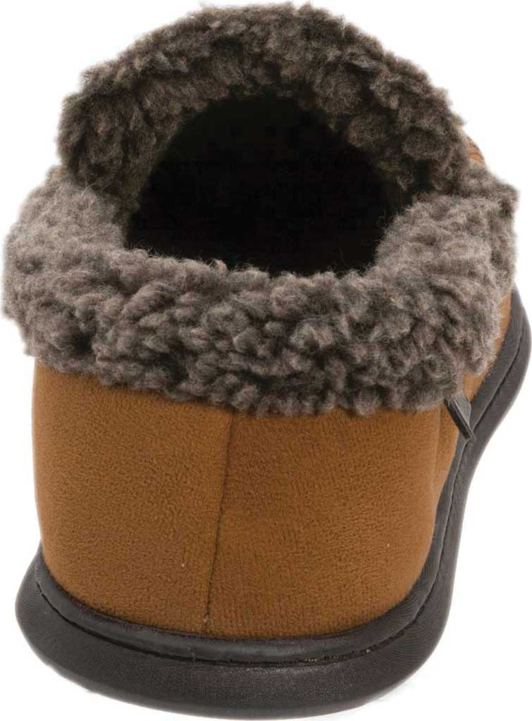 Men's Dearfoams Microsuede Whipstitch Moccasin Slipper, , large, image 5