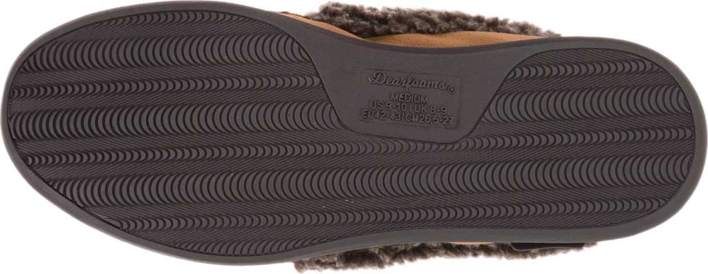 Men's Dearfoams Microsuede Whipstitch Moccasin Slipper, , large, image 7