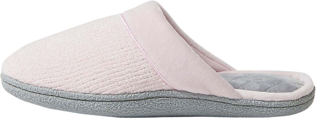Women's Dearfoams Samantha Chenille Clog Slipper with Quilted Sock, , large, image 3