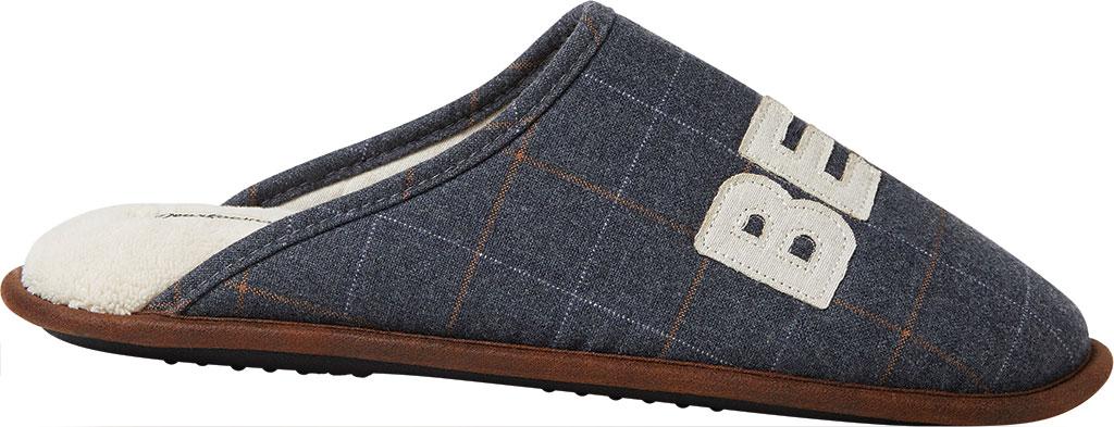 Men's Dearfoams Dad Scuff, Pavement Woven Textile, large, image 2