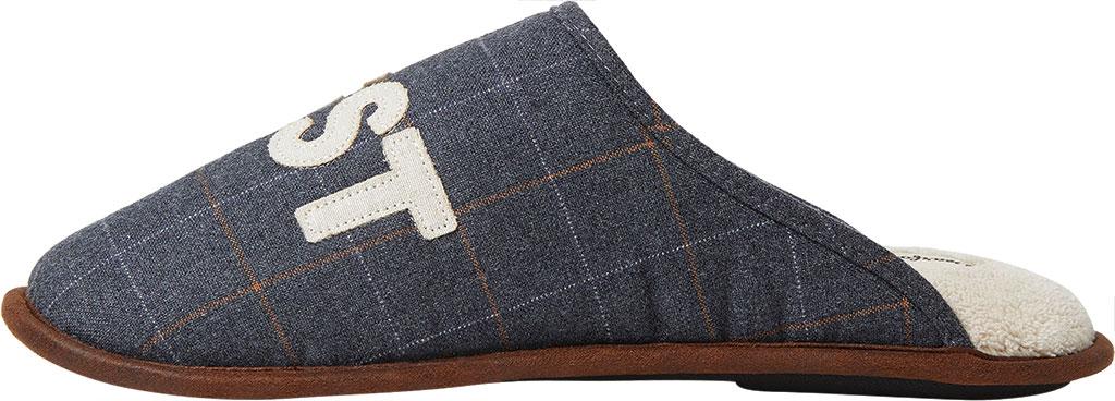 Men's Dearfoams Dad Scuff, Pavement Woven Textile, large, image 3