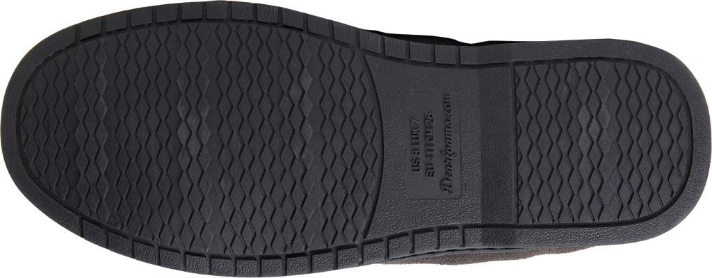Men's Dearfoams Genuine Suede Moccasin Slipper, Grey Suede, large, image 6