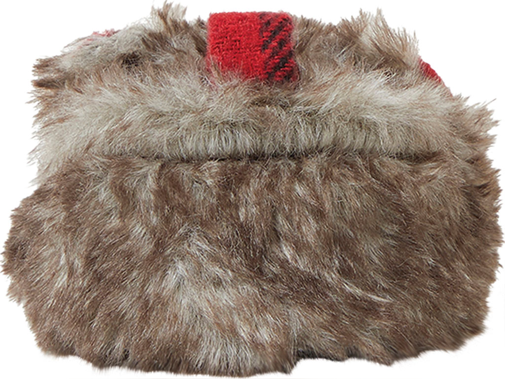 Infant Dearfoams Baby Furry Baby Bear Closed Back Slipper, Brown Frost, large, image 4