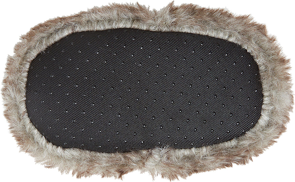 Infant Dearfoams Baby Furry Baby Bear Closed Back Slipper, Brown Frost, large, image 6