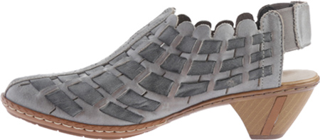 Women's Rieker-Antistress Sina 78 Shoe, White Grey/Rauch, large, image 3