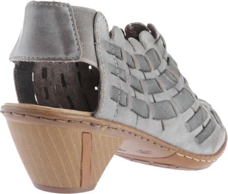 Women's Rieker-Antistress Sina 78 Shoe, White Grey/Rauch, large, image 4