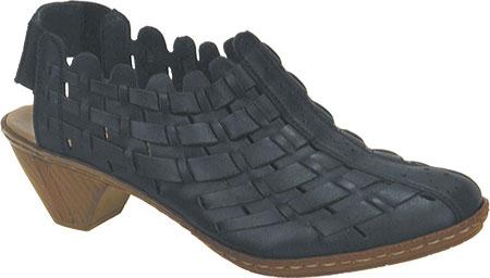 Women's Rieker-Antistress Sina 78 Shoe, Nero/Black Leather/Synthetic Combo, large, image 1