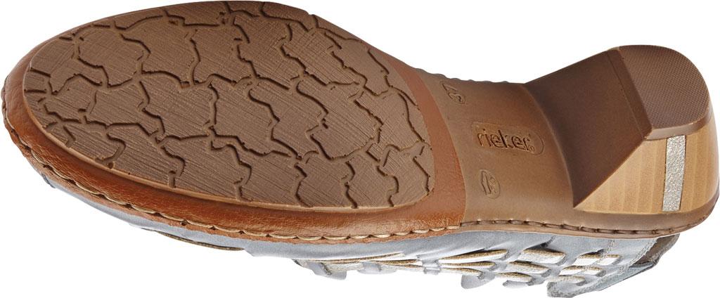 Women's Rieker-Antistress Sina 78 Shoe, Azur/Grey Leather, large, image 3