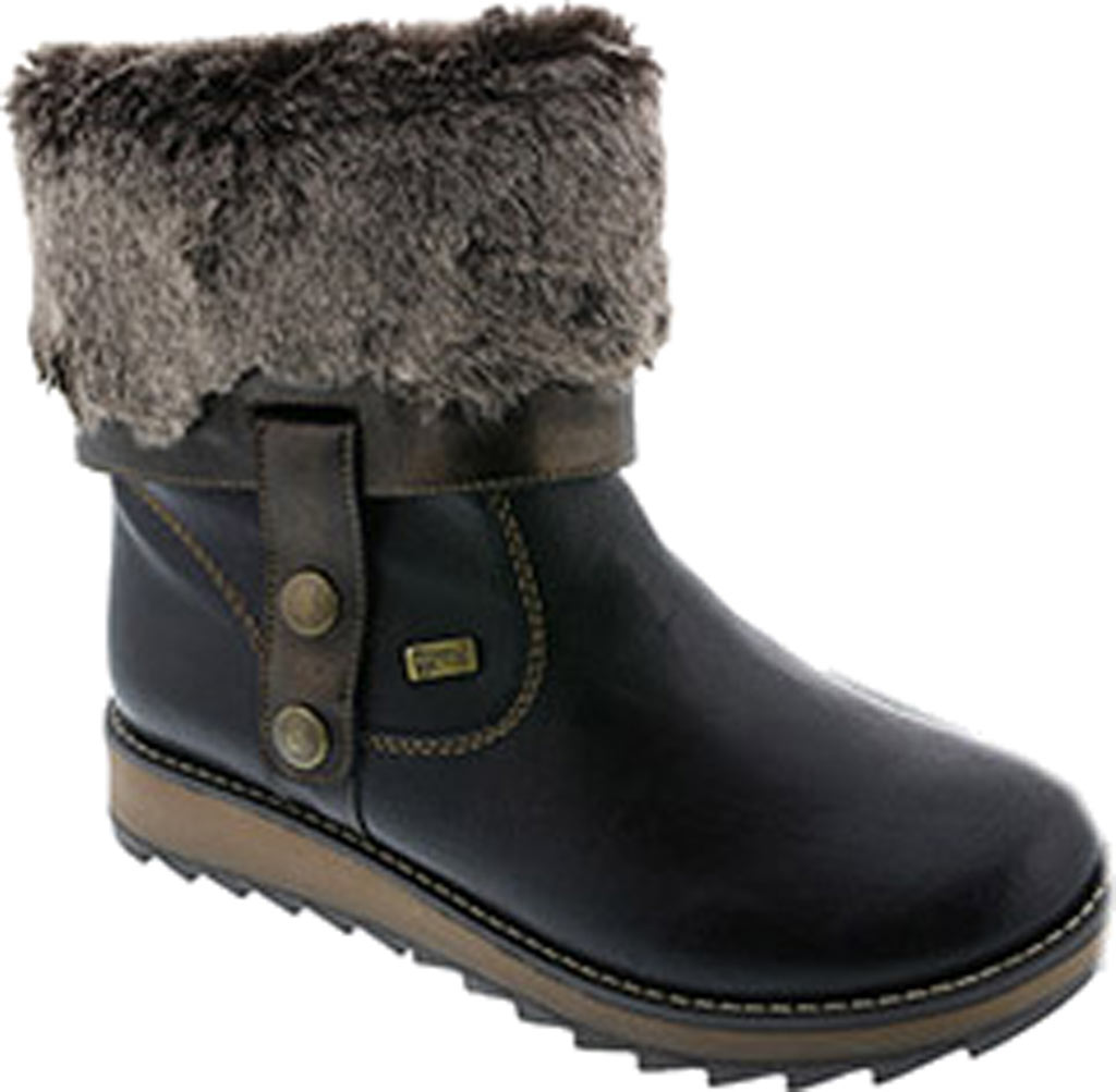 Women's Remonte Shanice D8874 Boot, Black Synthetic, large, image 1