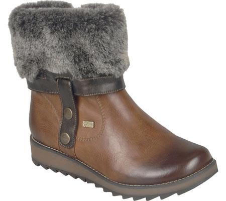 Women's Remonte Shanice D8874 Boot, Muskat/Antik/Sigaro, large, image 1