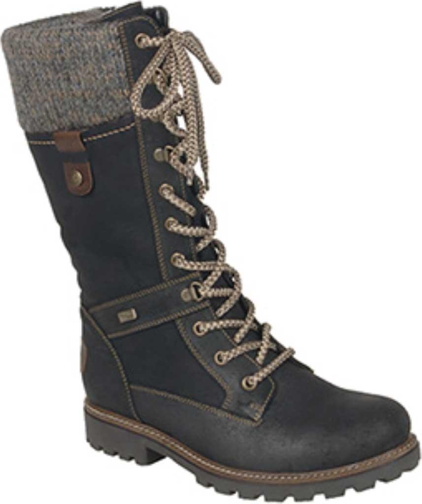 Women's Remonte Santana 77 Hiker Boot, Schwarz/Nero/Kastanie/Graphite, large, image 1