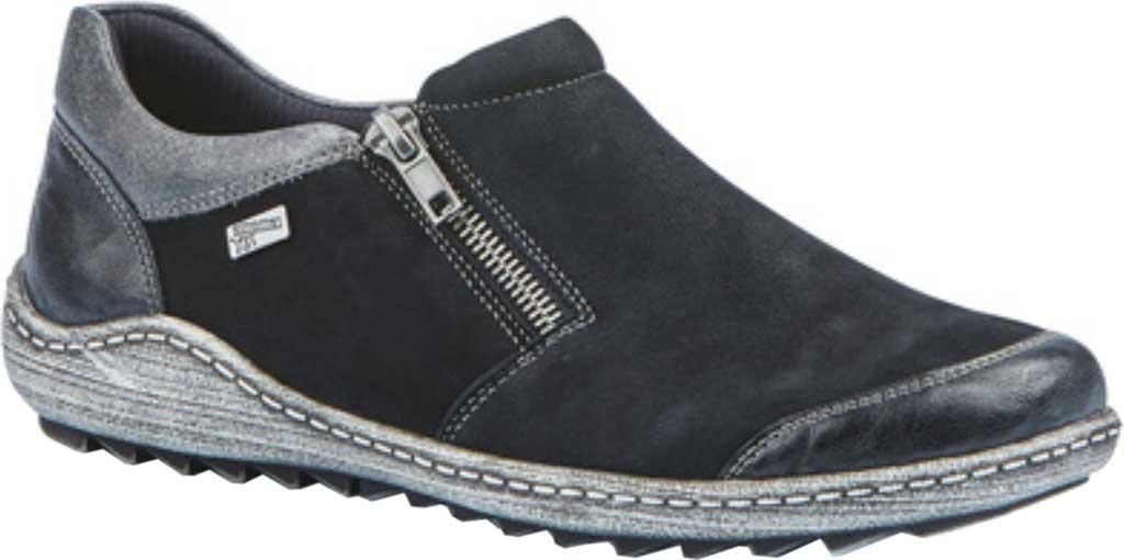 Women's Remonte Liv 03 Slip-On Shoe, Schwarz/Schwarz/Altsilber, large, image 1