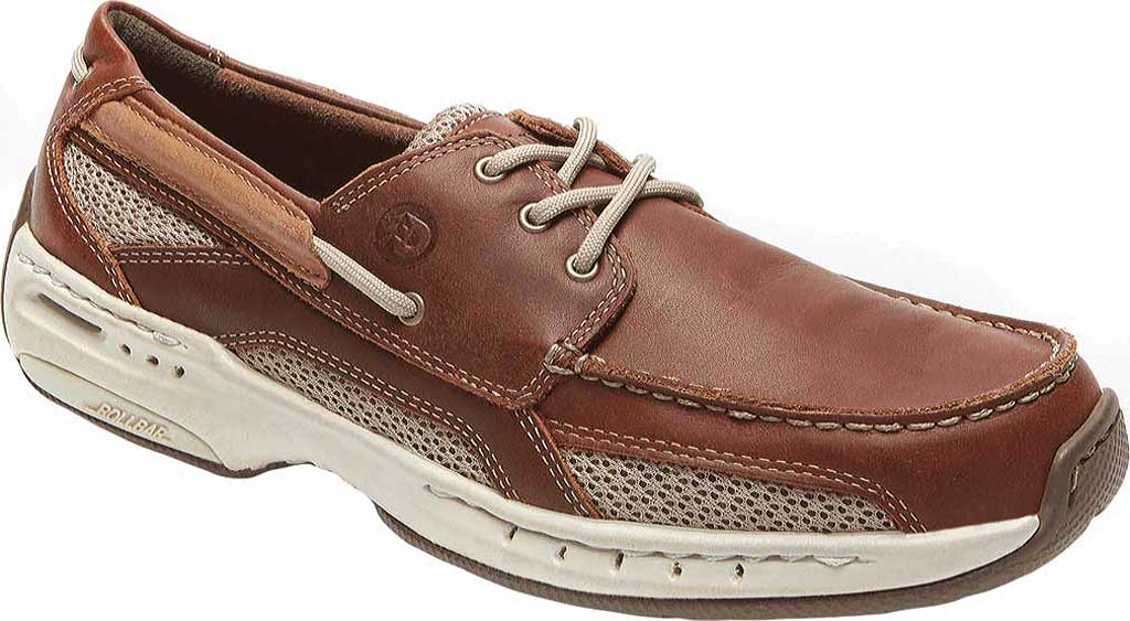 Men's Dunham Captain Mesh Boat Shoe, , large, image 1