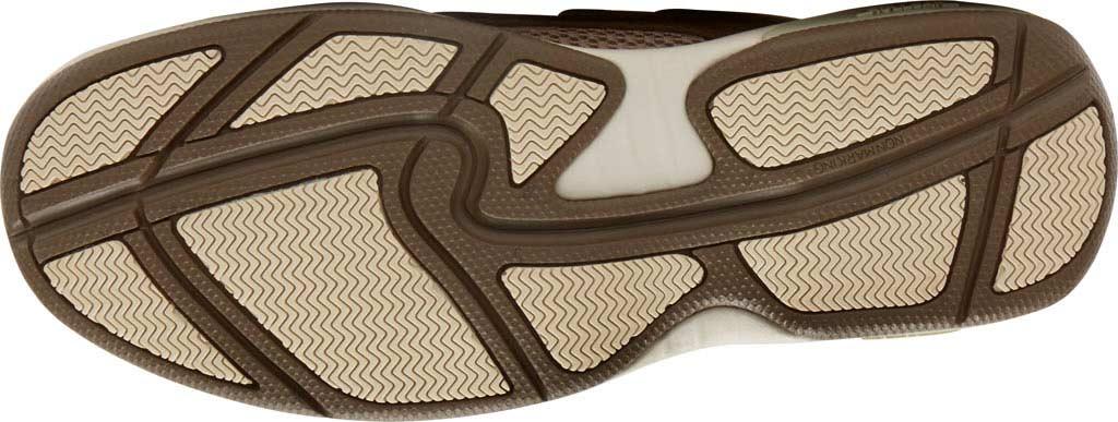 Men's Dunham Captain Mesh Boat Shoe, Two Tone Taupe Leather, large, image 5