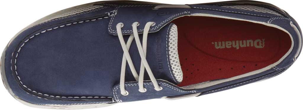 Men's Dunham Captain Mesh Boat Shoe, Navy Nubuck/Mesh, large, image 4